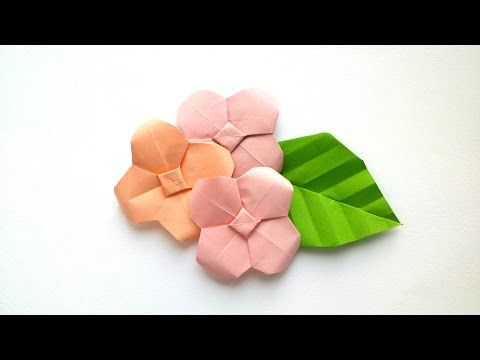 How to make origami hydrangea origami flowers youtube origami how to make origami hydrangea origami flowers youtube mightylinksfo
