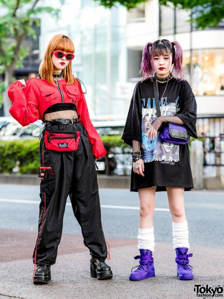 f477ee3a3cb4 Harajuku Girls Streetwear w/ Sade T-Shirt, Never Mind the XU, Faith Tokyo,  Nike & Out Of This World
