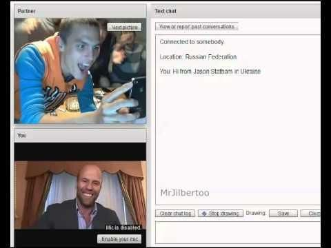 Funny Reactions To Jason Statham On Chat Roulette - #funny ... on