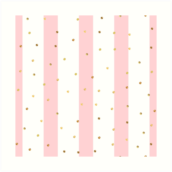Pink White Stripes Pattern Art Print By Newburyboutique Striped Art Pink And White Stripes Stripes Pattern