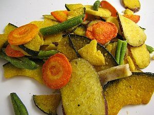 Dehydrated Vegetable Chips With Images