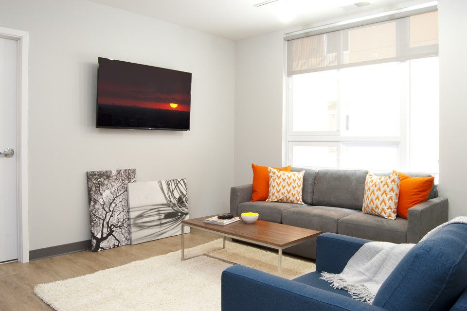 Check Out The Cozy Modern Living Room At The Flats Adorable Cozy Modern Living Room Design Ideas