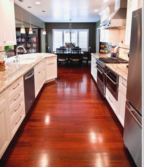 Beauty Cherry Wood Ideas For Kitchen Flooring  House Ideas New Kitchen Floor Options Decorating Inspiration