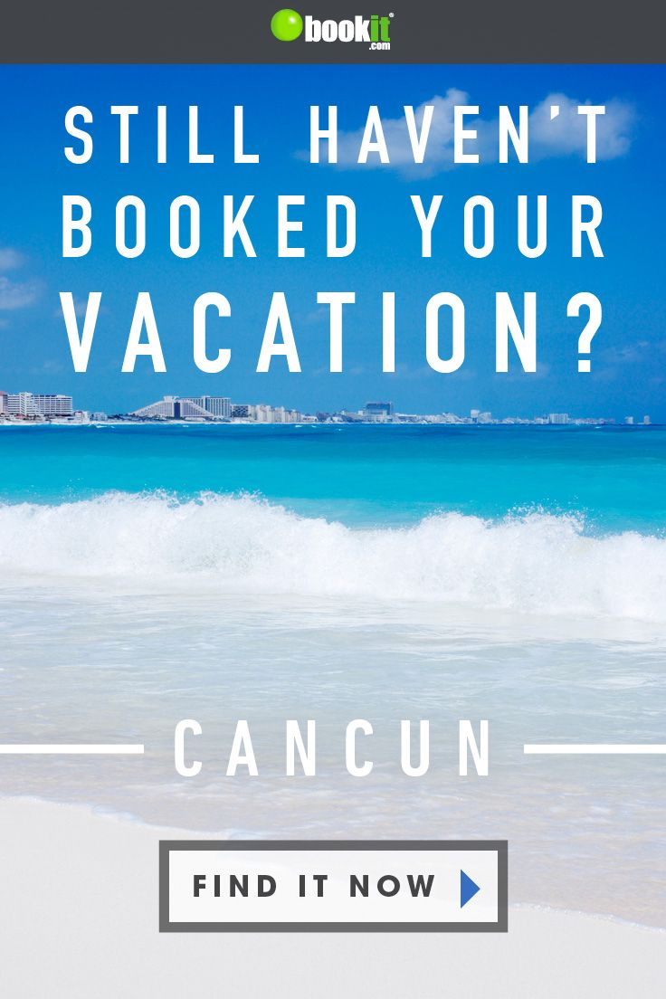 Still Searching For The Perfect All Inclusive Cancun Vacation Book It Today Cancun Vacation Vacation Books Mexico Travel