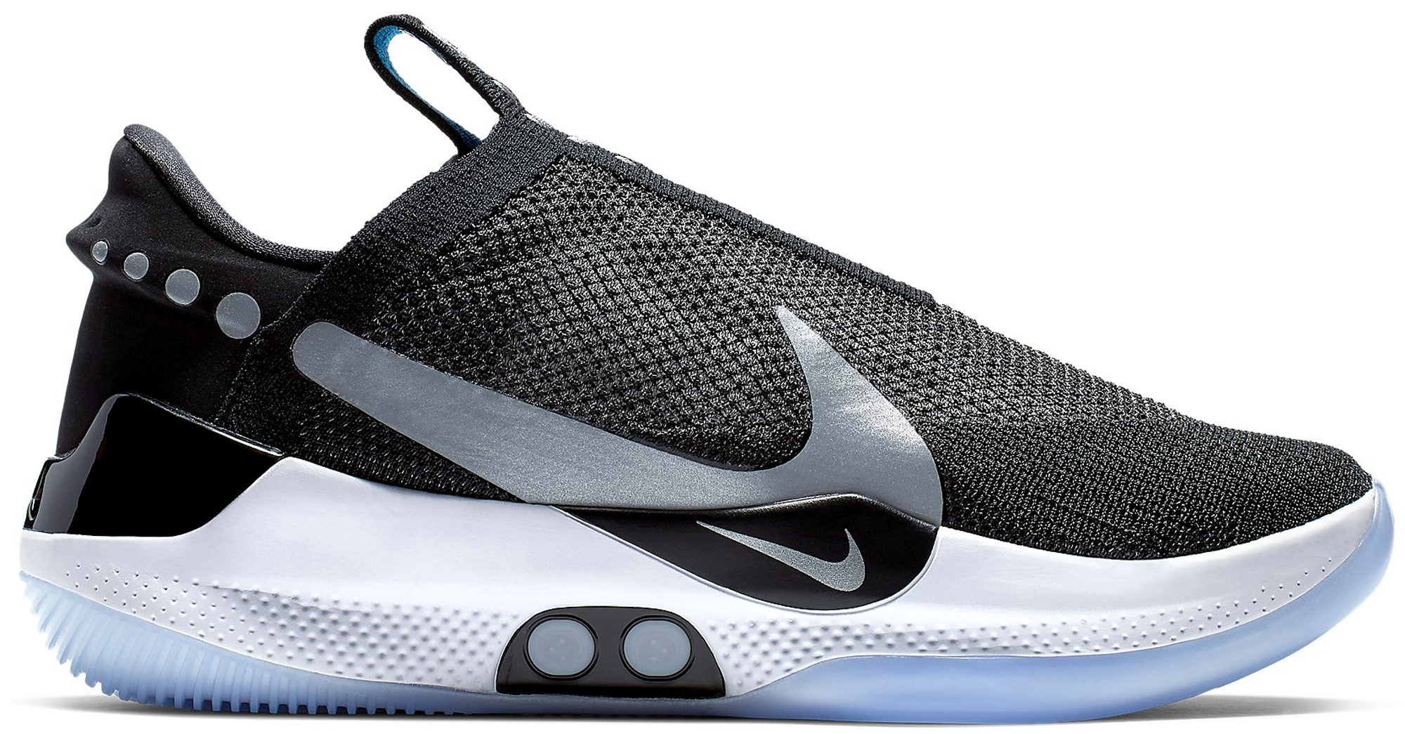 78aeee20 Check out the Nike Adapt BB Black Pure Platinum (US Charger) available on  StockX