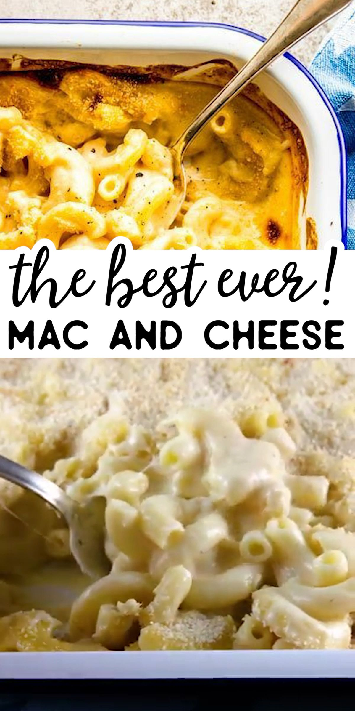 Homemade Baked Mac and Cheese #bakedmacandcheeserecipe