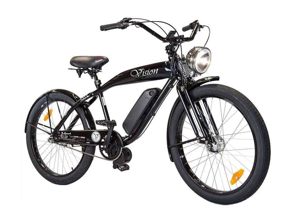 Phantom Bikes Vision The Phantom Vision Is Strong Durable And Built With Style With A Retro Look Phantom Bikes Have Be Cruiser Bike Bicycle Electric Bicycle