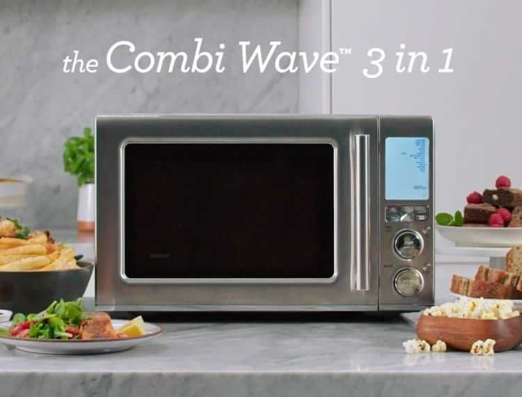 Breville Combi Wave Microwave 3 In 1 In 2020 Microwave Convection Oven Convection Oven Microwave Oven
