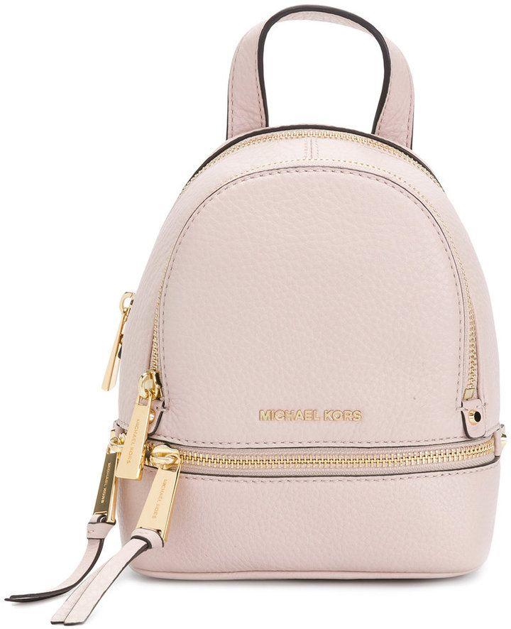 MICHAEL Michael Kors Rhea backpack | Cute mini backpacks