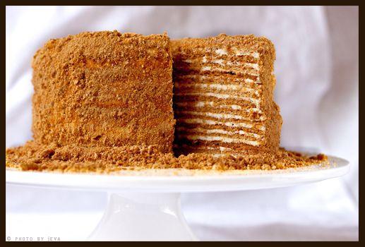 Honey cake a lithuanian dish similar to icebox cake i can honey cake a lithuanian dish similar to icebox cake i can probably simplify it forumfinder Images