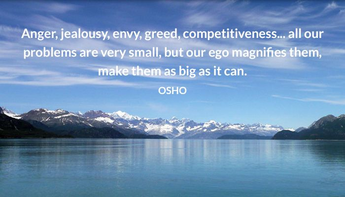 Anger, jealousy, envy, greed, competitiveness... all our problems are very…