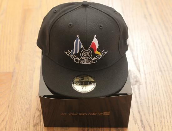 8c48dc7f Eye on eBAY: SUPREME x NEW ERA「Flags 2008」59Fifty Fitted Baseball Cap