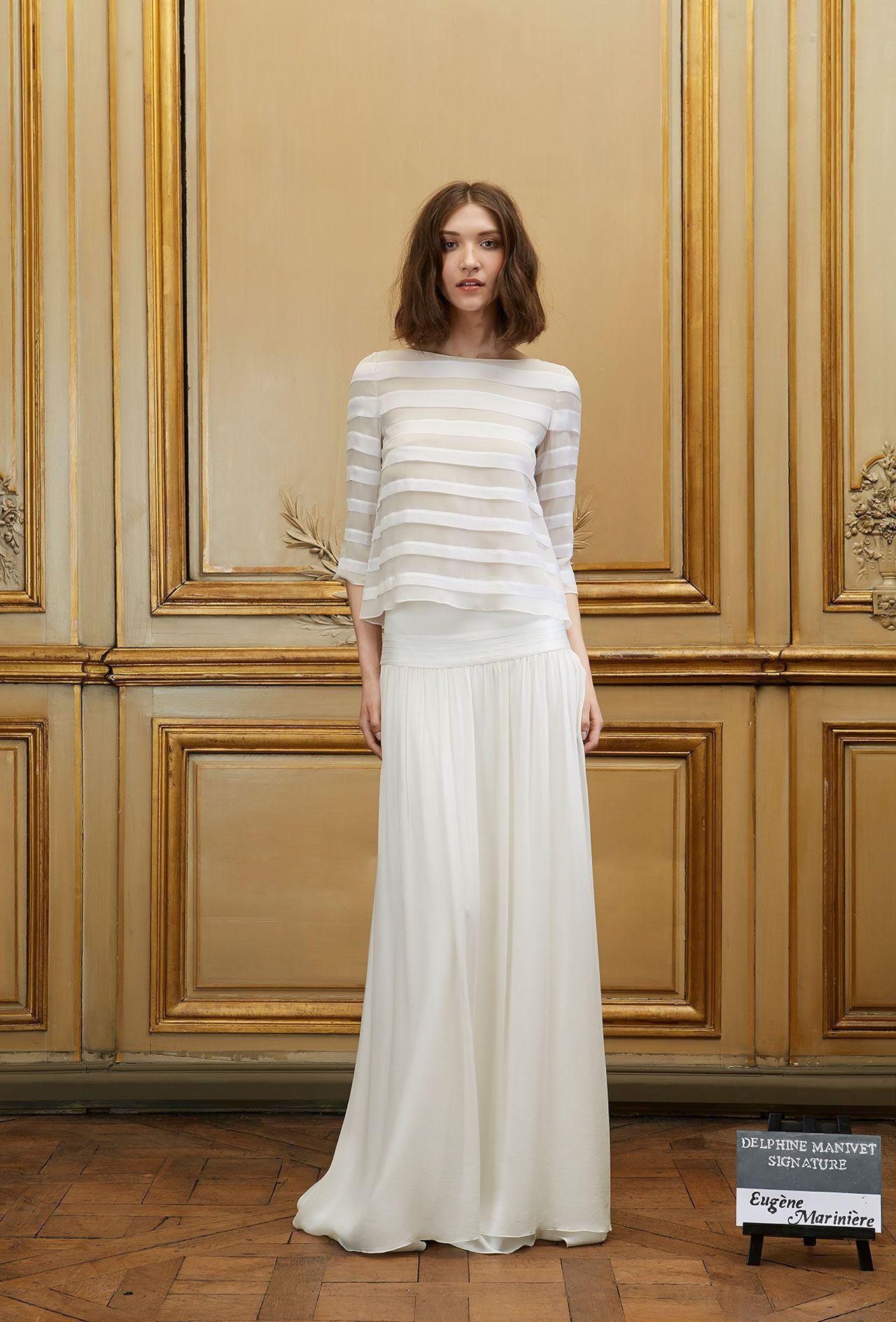 Jupe de mariée Eugène & Marinière - Signature Collection - Robes de ...