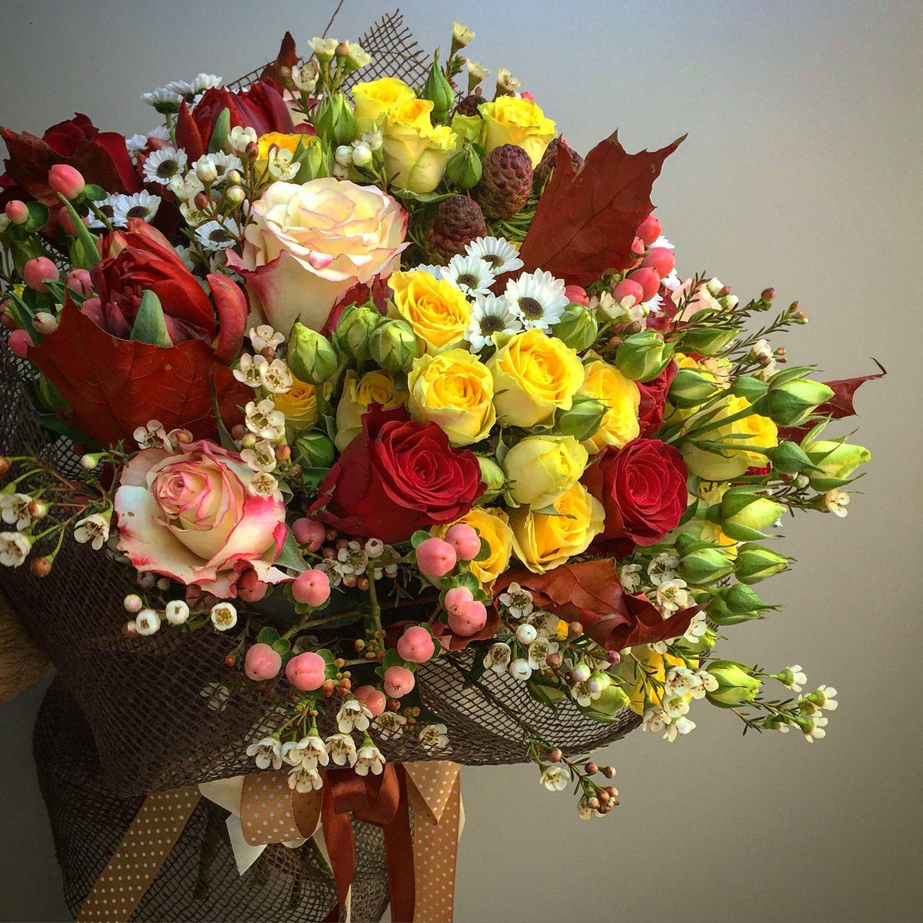 Autumn Flower Bouquet Flower Arrangements Pinterest Autumn