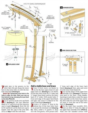 1647 Wooden Floor Lamp Plans - Other Woodworking Plans and ...
