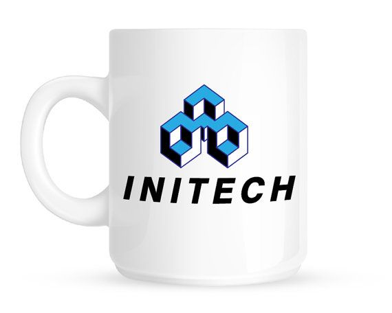 Initech Office Space Coffee Mug Ceramic Pair This With The Movie Or A  Chiliu0027s Giftcard For