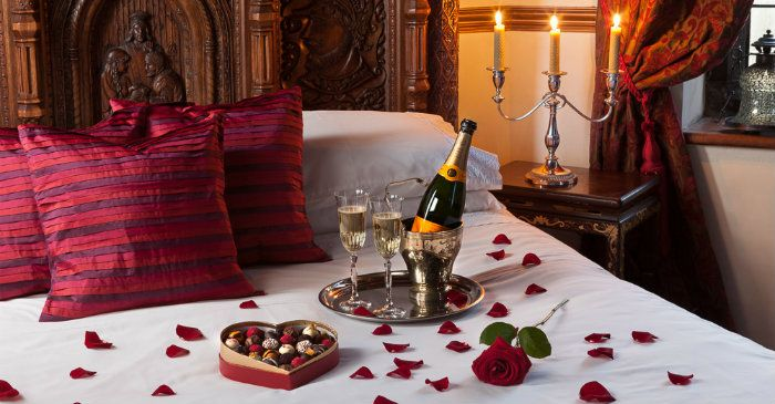 Marvelous Related Images. Romantic Valentines Day Bedroom Decorations Part 9