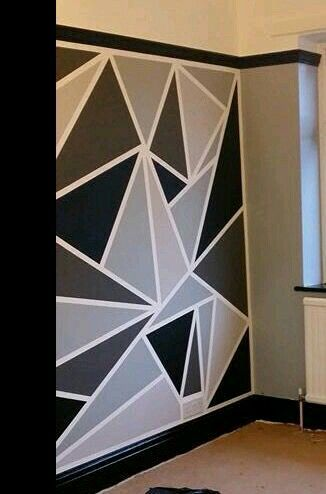Pin By Shaikh Nizamuddin On Geometrical Designs Pinterest Room Paint Ideas And Walls