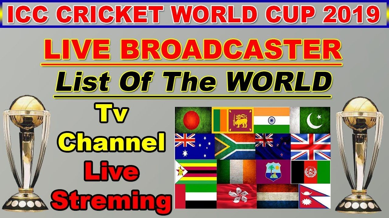 ICC Cricket World Cup 2019 Live Streaming & TV Channel