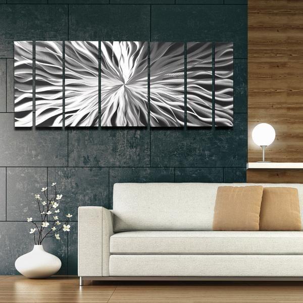 pin on silver metal wall art on metal wall art id=73444