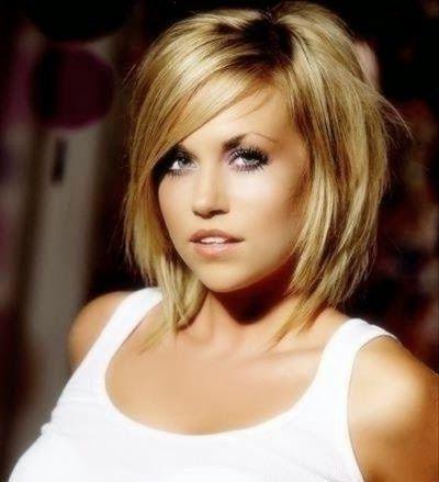Couleur De Meche Pour Cheveux Blond Coiffure visage rond