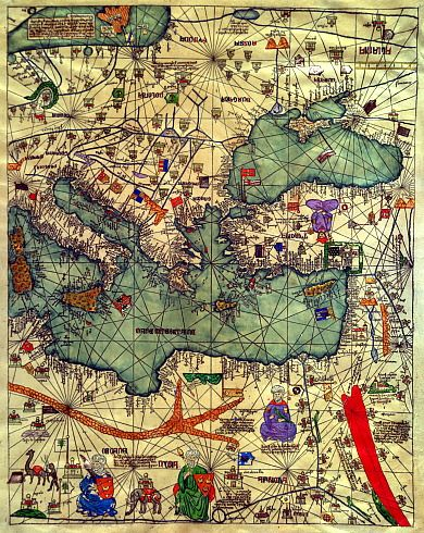The catalan atlas 1375 eastern europe plattegronden the catalan atlas 1375 eastern europe ancient mapworld gumiabroncs Gallery