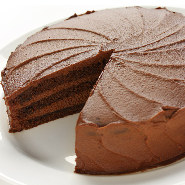 So much yummy chocolate cake recipe that is decadent and did we mention three layers?. Three Layered Chocolate Cake Recipe from Grandmothers Kitchen.