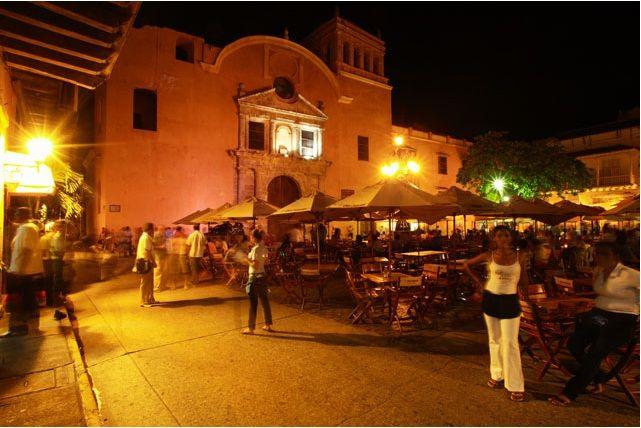 Plaza de Santo Domingo, Cartagena