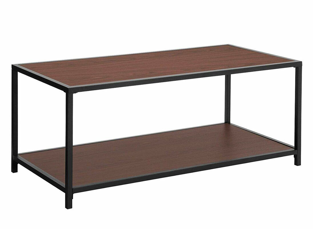 Landers Iron Frame Coffee Table With Tray Top Coffee Table Iron Frame Coffee Table Stylish Coffee Table [ 800 x 1095 Pixel ]