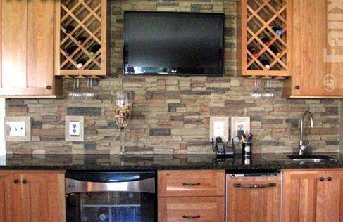 Beyond Mere Paint 7 Great Kitchen Wall Ideas Stone Backsplash
