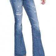 True-Religion-Flare-Leg-Jeans-CARRIE-SKINNY-KNEE-V-Color-Blue-0