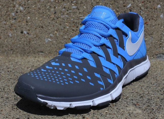 reputable site ed74c 0a3b5 Nike Free Trainer 5.0 - Dark Grey   University Blue   KicksOnFire