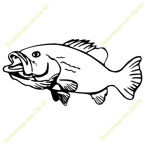 google images clip art free of fish bass fish clip art cameo rh pinterest com Bass Fish Outline Clip Art Smallmouth Bass Fish Jumping