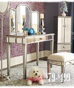 my Hayworth Vanity set I purchased from Pier 1 Imports | Household ...