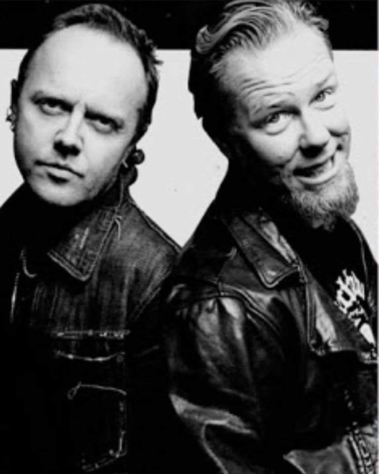 Lars Ulrich and James Hetfield by Kevin Mazur | James