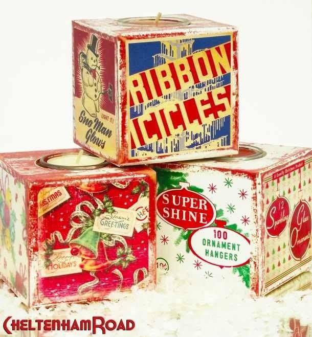 Vintage Christmas tree ice sickles