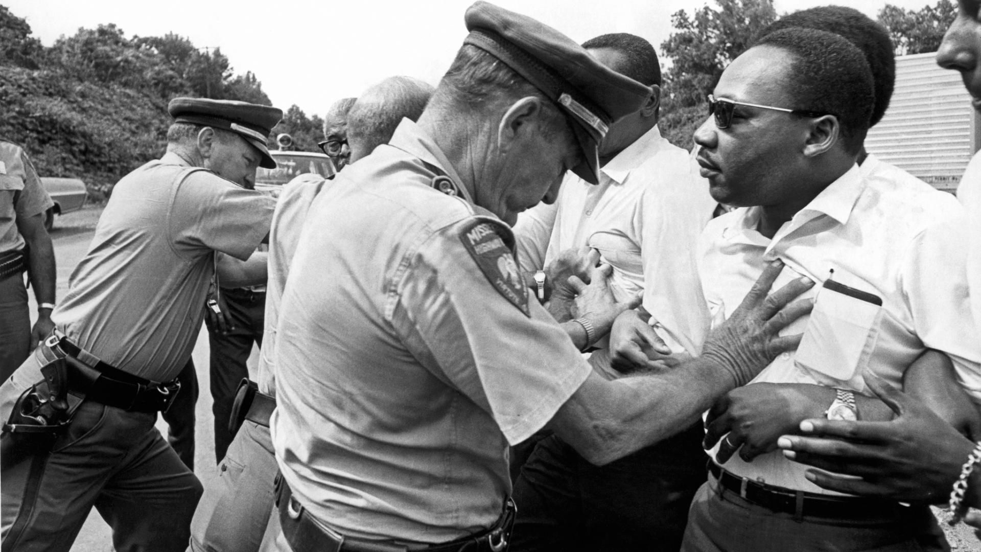 For martin luther king jr nonviolent protest never