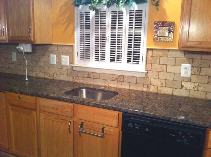 Image Result For Kitchen Backsplash Ideas With Tan Brown Granite