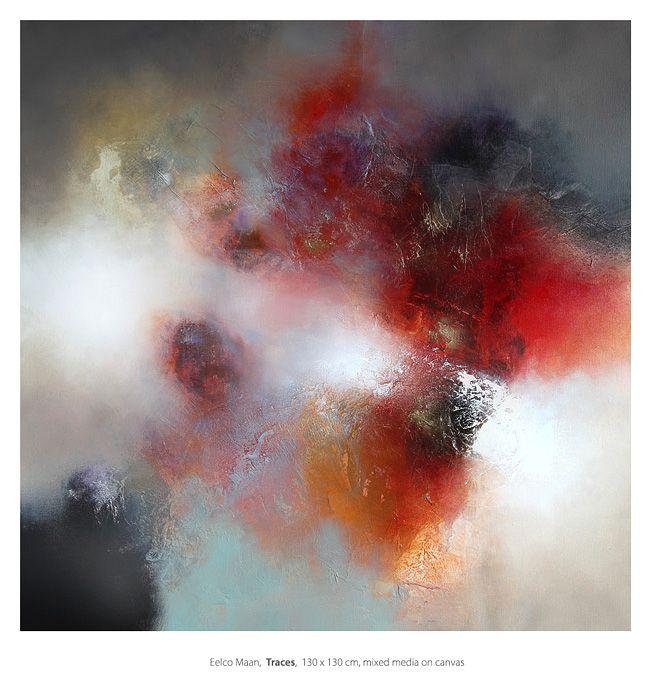 Eelco Maan beeldend kunstenaar I lyrisch abstracte kunst I kleurrijke abstracte schilderijen I visual artist I lyrical abstract art I colorful abstract paintings