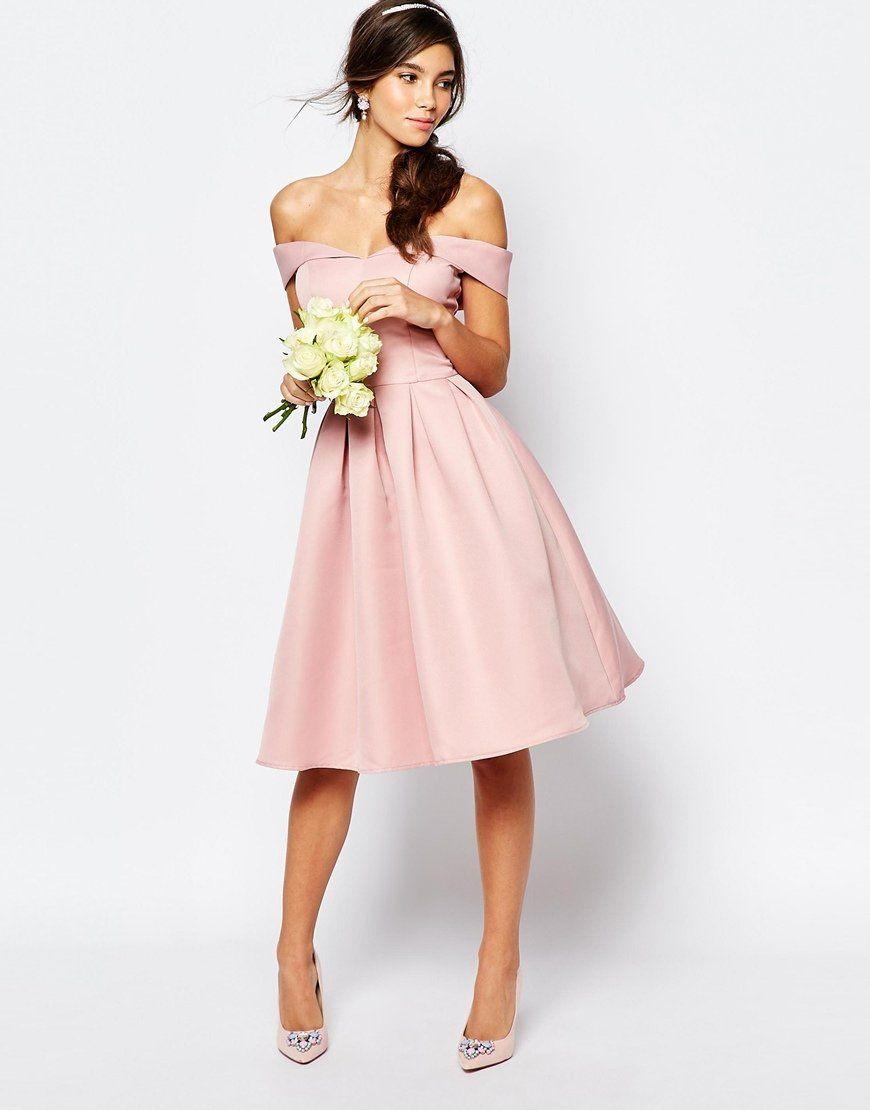 Blush Pink Homecoming DressHomecoming DressesHomecoming GownsKnee