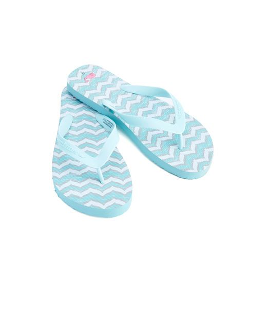 d865b8e43 Whale Tail Print Flip Flops
