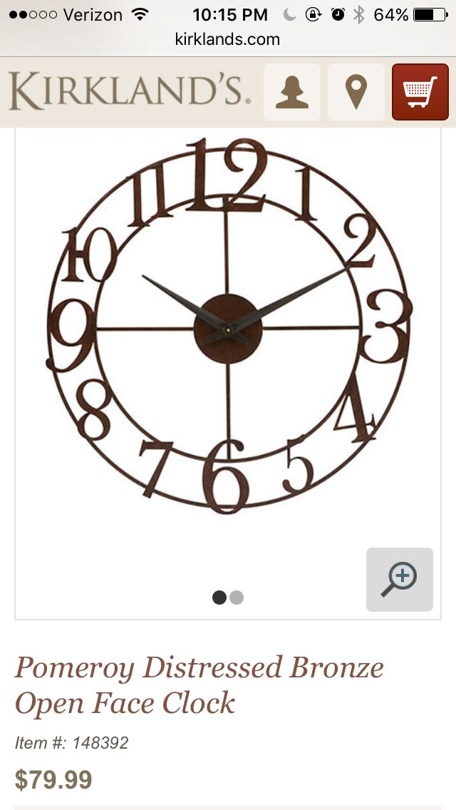 http://m.kirklands.com/product/Art-Wall-Decor/Clocks/Pomeroy ...