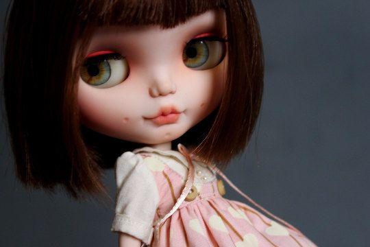 Eyechips for Blythe dolls  Realistic Light Green by NatMDolls