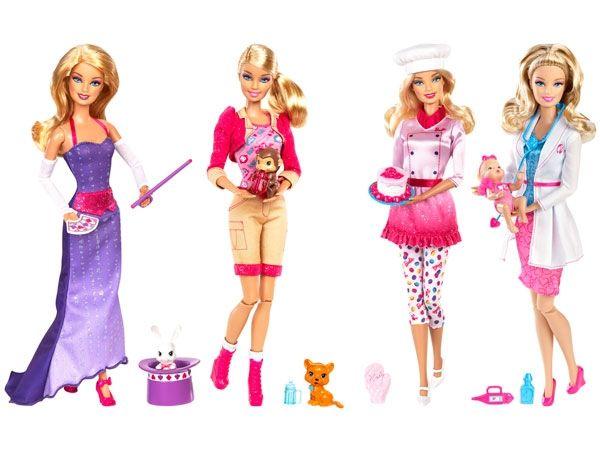 Barbie y sus múltiples oficios