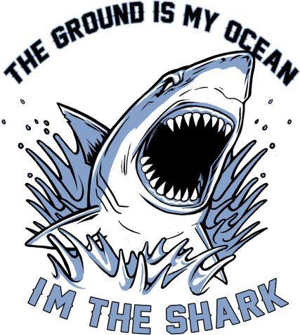 Really Nice Shirt With Shark Made Out of Hemp!