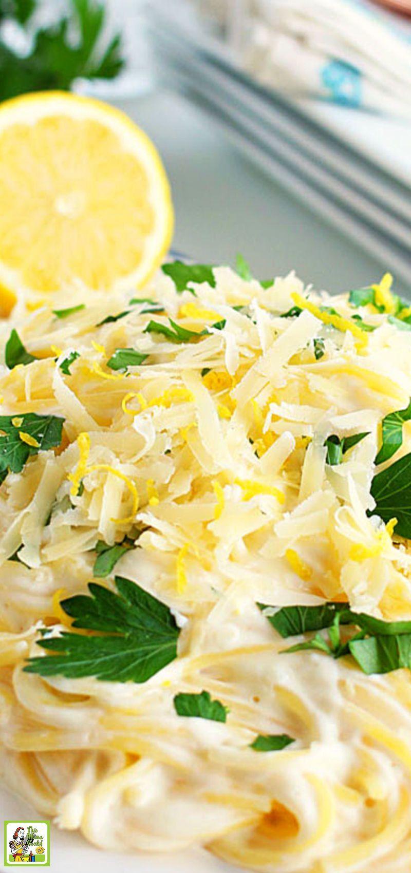 Einfache Dinner-Ideen - Einfache Zitronennudeln -  Auf der Suche nach einfachen Ideen für das Abendessen? Probieren Sie dieses einfache Rezept für Z - #DinnerIdeen #einfache #lemonpastarecipe #Zitronennudeln