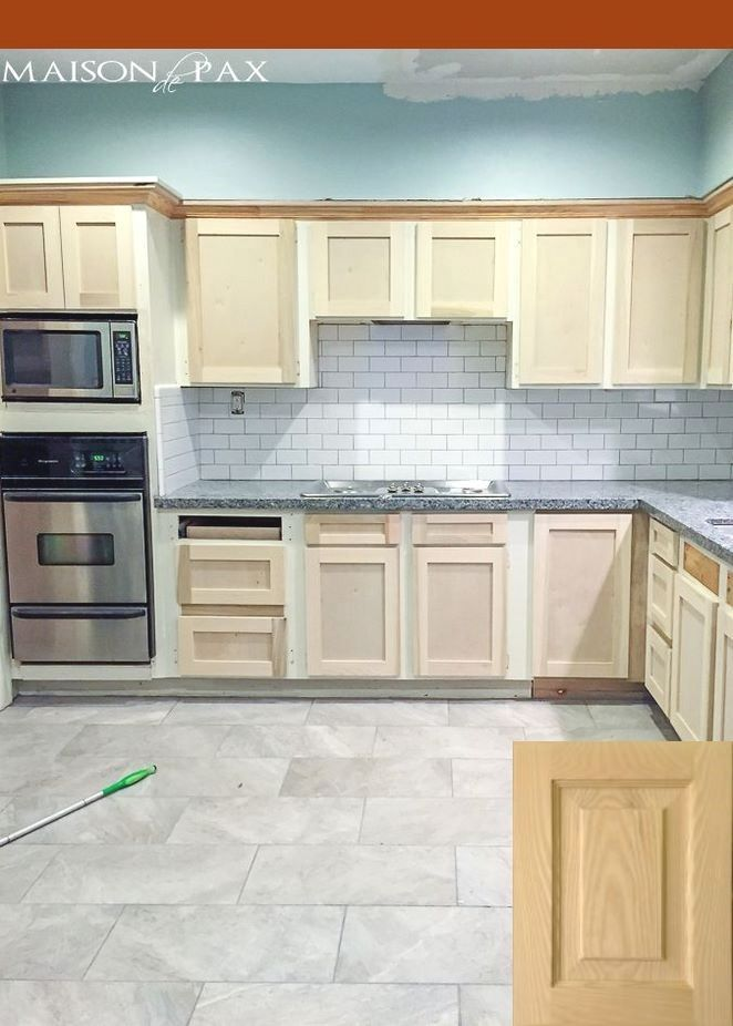 Unfinished Kitchen Cabinets Online | Small Kitchen ...