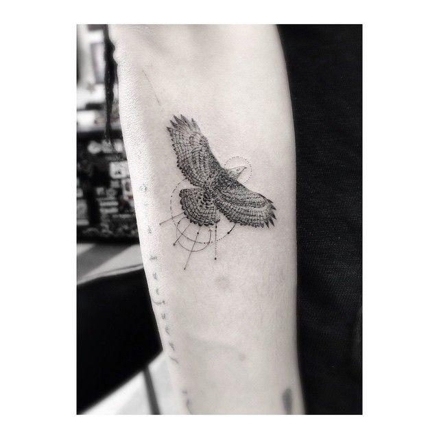 Always A Good Hang With The Homies Zoeisabellakravitz And Swankfuck Inc Hawk Tattoo Zoe Kravitz Tattoos Tattoos