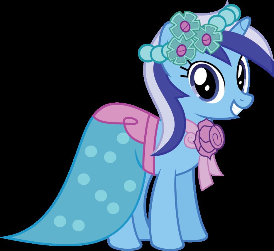 My Little Pony Wedding: S02E25 S02E26 Bridesmaid Minuette #equestriafashion