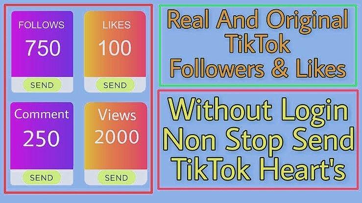 Tik Tok Followers Increse Trick Tok Tik Tok Hacks